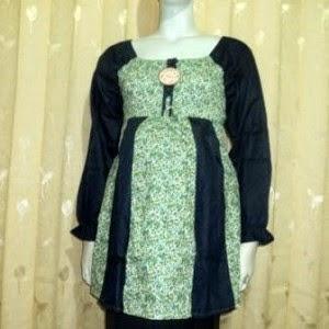 Model Baju Hamil Muslim Untuk Kerja 002