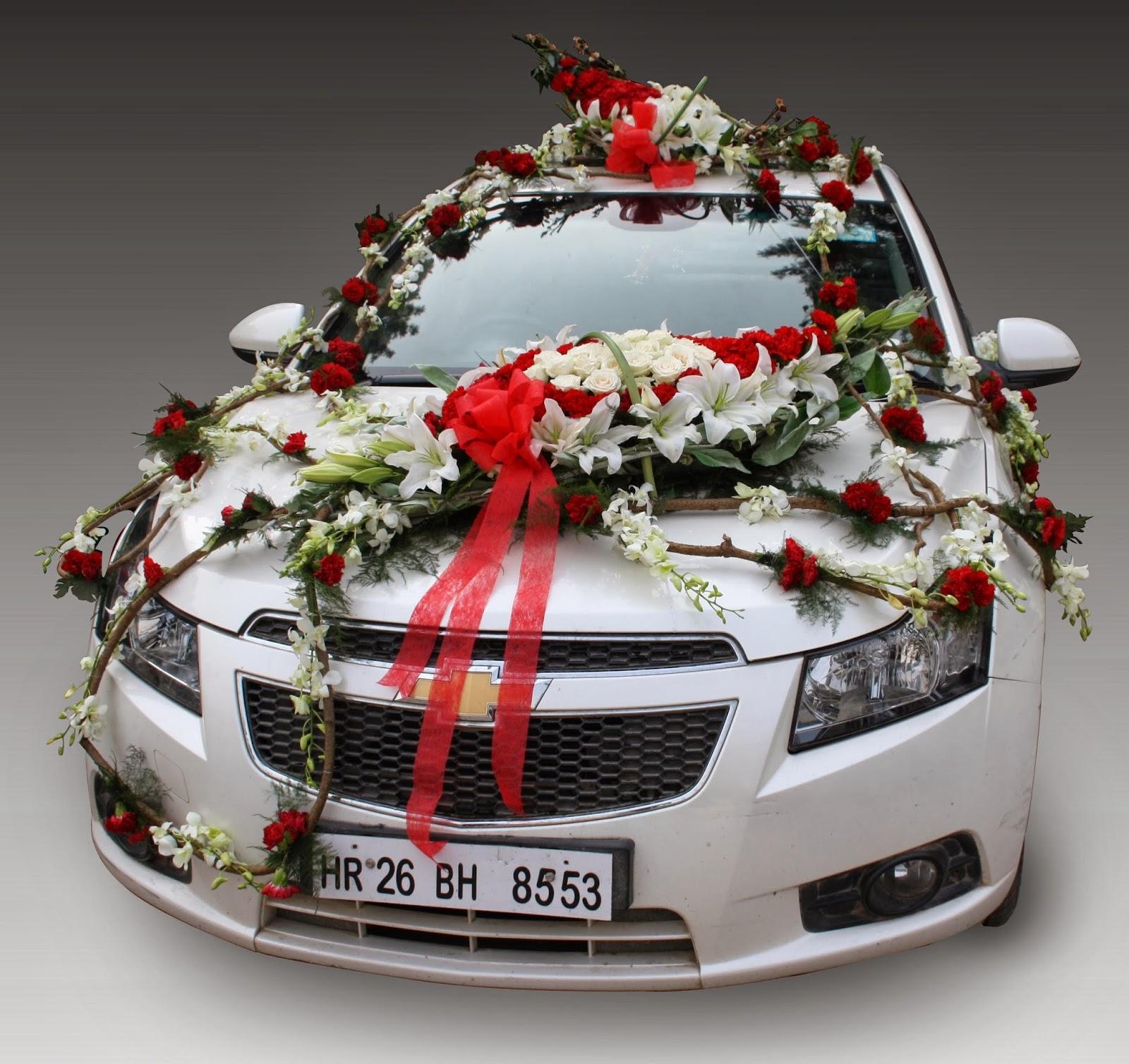 Toptenfashionnew indian wedding car - Wedding decorations for car ...