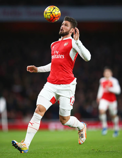 HITMAN: Olivier Giroud has been in fine form for Arsenal in recent matches