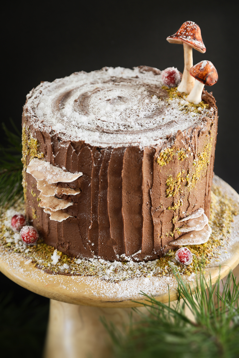 Mulled Wine Stump de Noël Cake and a Ridge Runner Wood Works Giveaway ...