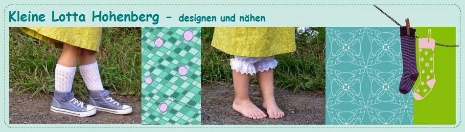 Kleine Lotta Hohenberg - designen und nähen