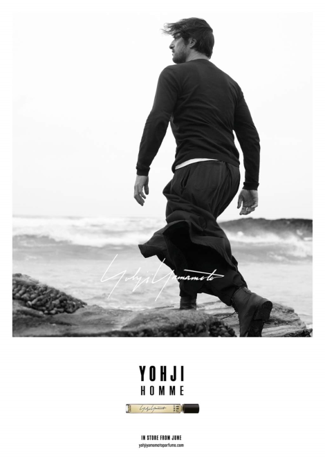 Tony Ward for Yohji Yamamoto Homme Fragrance