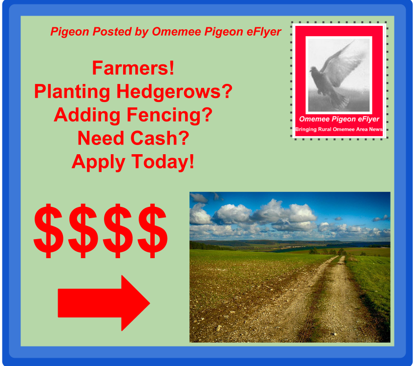 Omemee Millbrook Pontypool, Dunsford, Downeyville Bethany Farmers! Ontario Funding available Apply now!