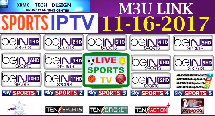 Add Uk Sports M3u Link 11 16 2017 Sports Channel To Kodi