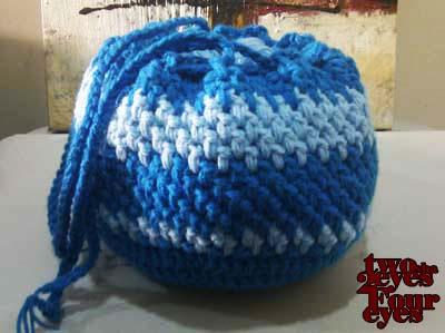 Block-Stitch Baby Blanket - Designs by KN