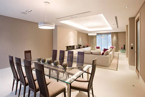 Integrated Ideas for Dining Room