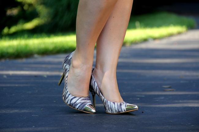 Golden Cap Toe Shoes from Brazil