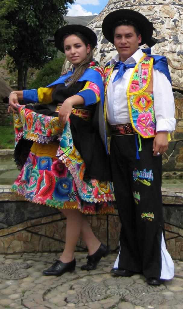 danza folclorica huancayo huaylas: