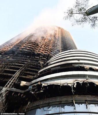 Пожар вентилируемый фасад из композитных, алюмокомпозитных, пожар алюминиевого фасада