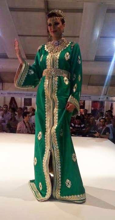 Caftan marocain de mariage haute couture