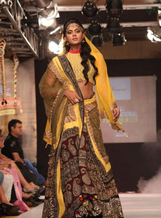 karthika rwalk at cifw 2012 actress pics