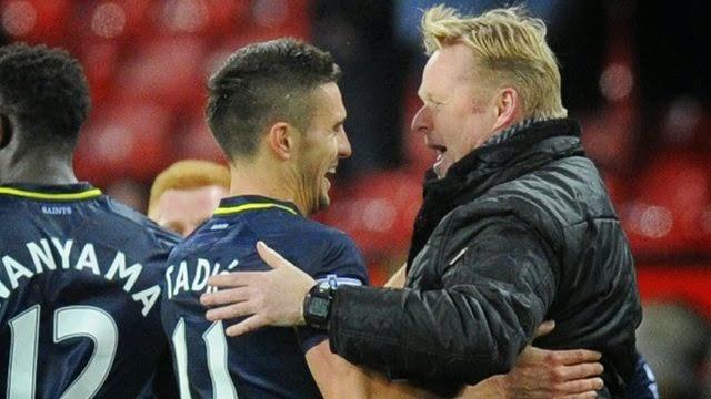 Situs Judi Online : Southampton Permalukan Man United Dengan Skor Tipis 0-1