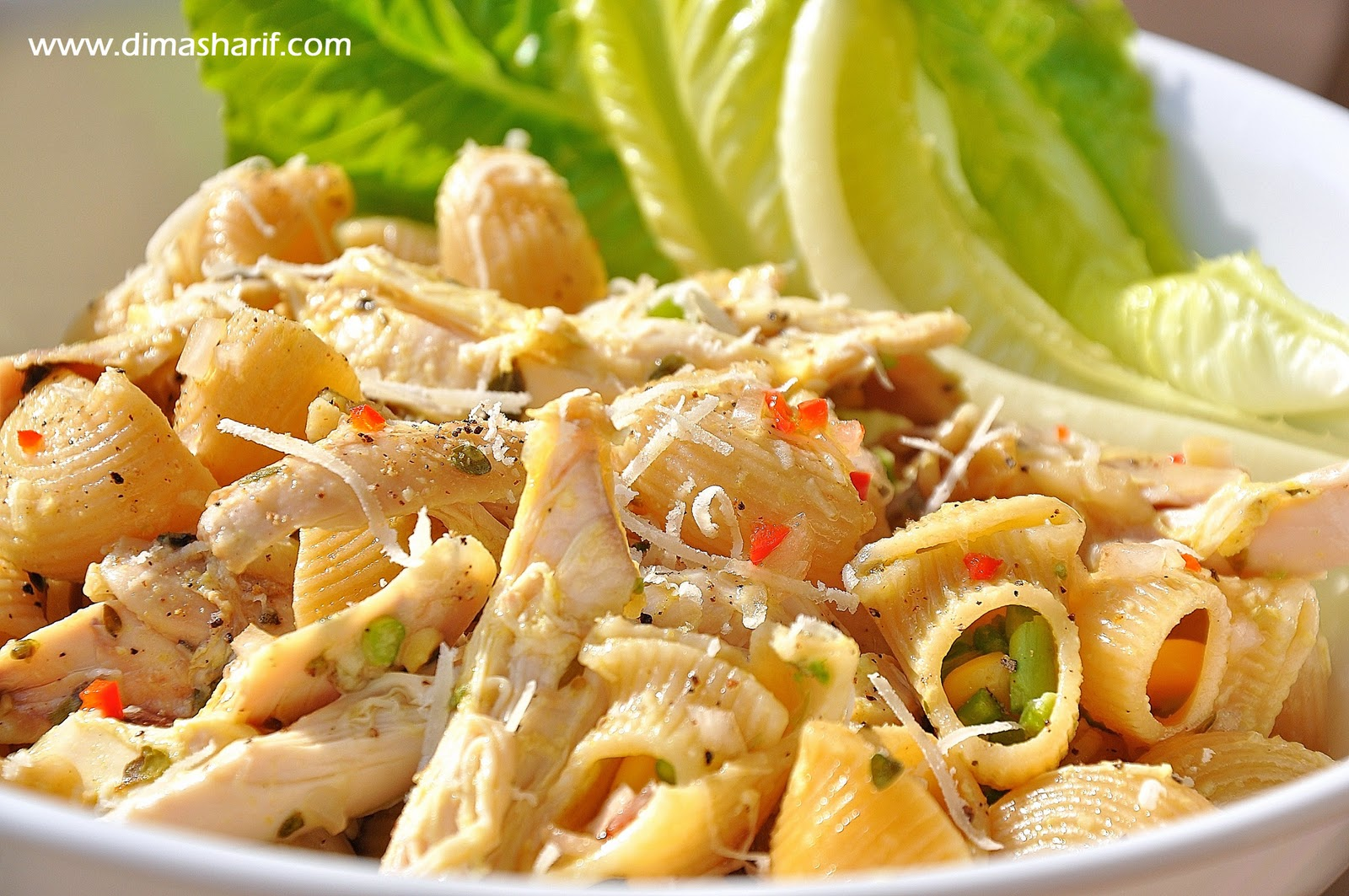Chicken Pasta Salad You Need 1packet whole wheat large elbow pasta