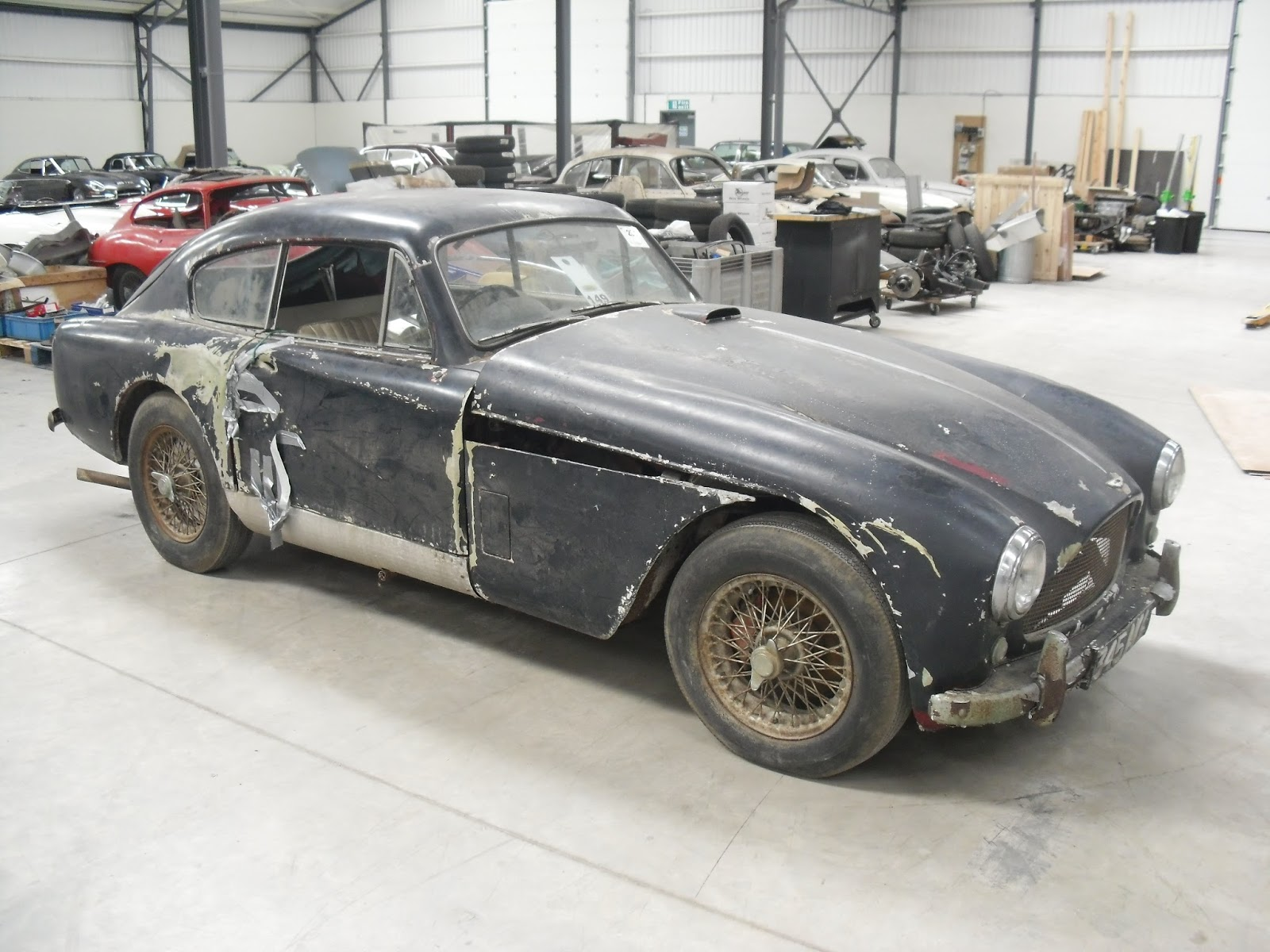 Barn Find DB2 4 Restoration Begins