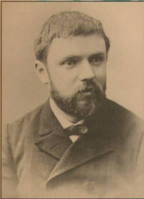 """""""Henri Poincaré, como una mariposa dorada ha volado al nunca-más, dejando sólo a nuestros dedos, lacios y nostálgicos, ese polvillo delicado que el viento ... - Young_Poincare"""