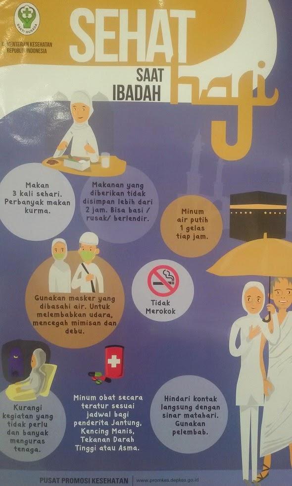 Tip sehat beribadah umroh haji