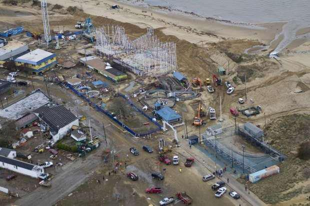 Hurricane sandy flood damage