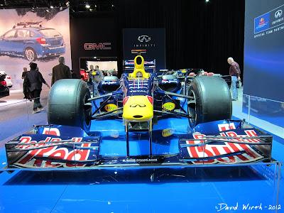 Red Bull F1 Formula 1 Race Car