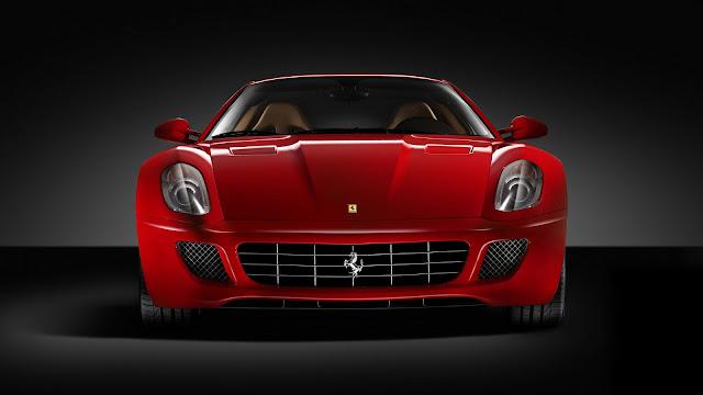 Red Ferrari 599