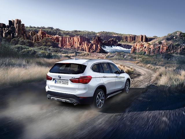 BMW X1 SUV REAR