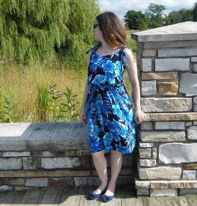 Floral Saltspring Dress