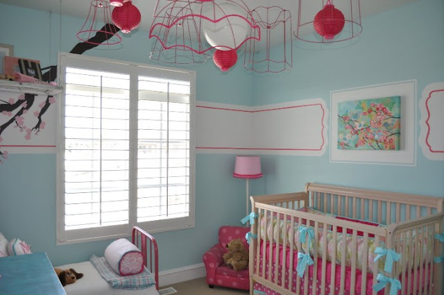 paint schemes for baby girl rooms