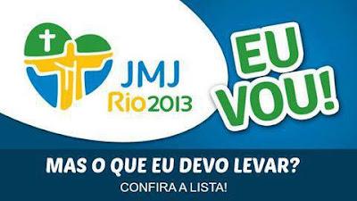 #JMJRio2013: Check list