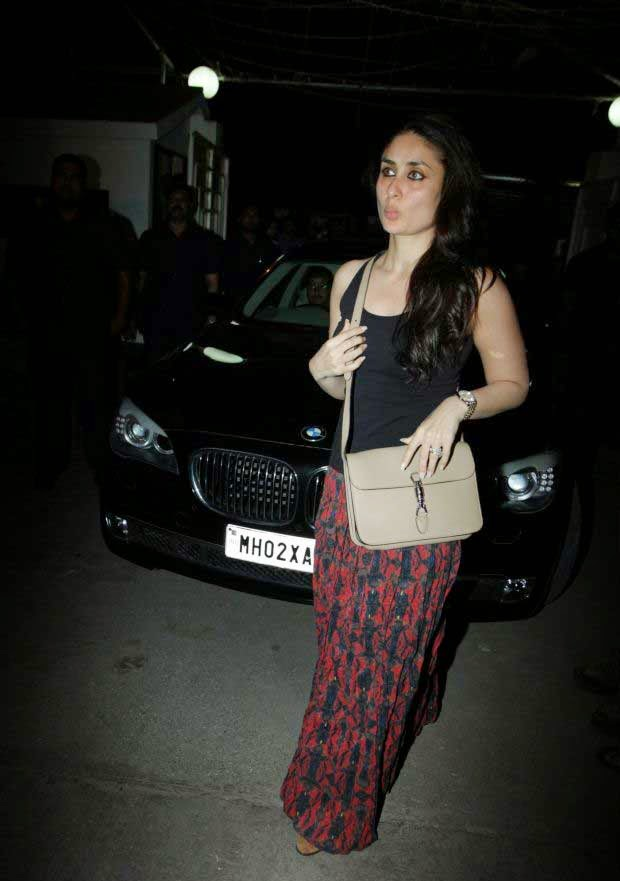 Kareena Kapoor at Happy Ending screening