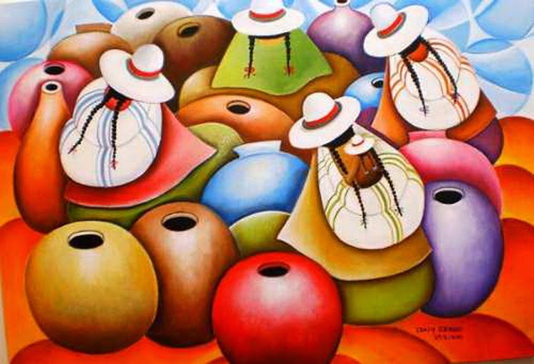 cuadros-peruanos-indigenas-modernos
