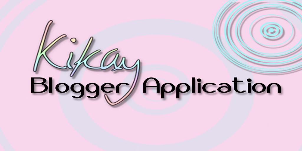 Blogger/s Application