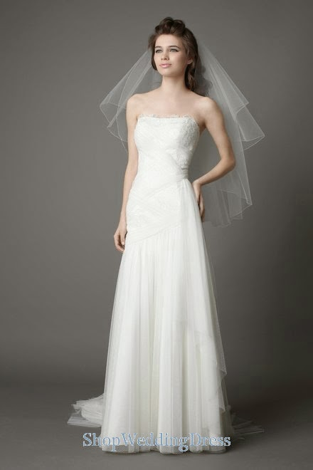 Lace Wedding Dresses  Canada : Fashion she dresses  canada strapless lace