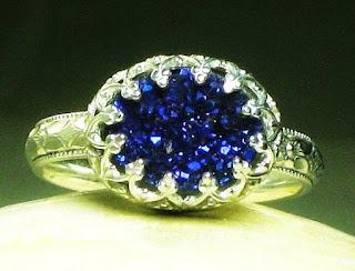 Druzy Stone Jewelry Rings