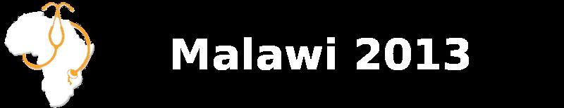 Medicinska odprava Malavi 2013