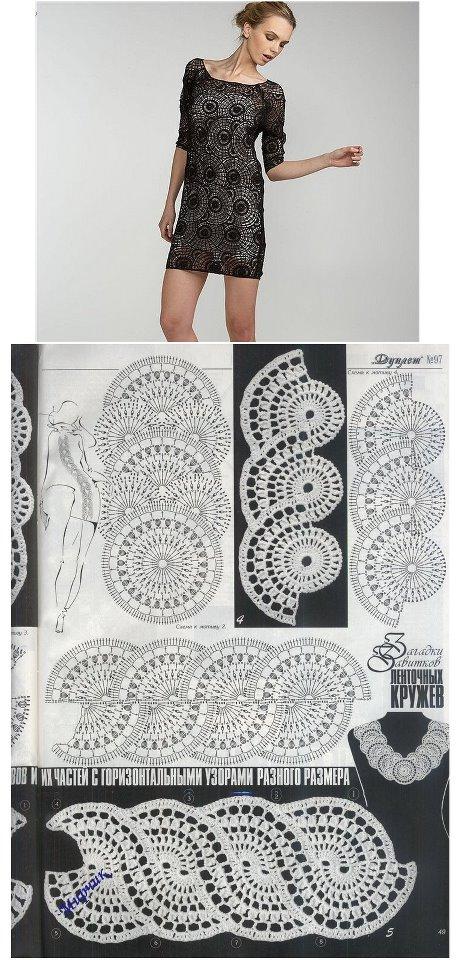 Increíble Vestido De Crochet Patrón Libre Regalo - Ideas de Patrones ...