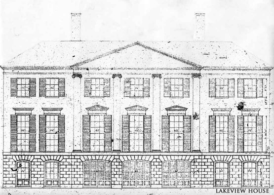 The devoted classicist lakeview house palm beach for Beach house drawing