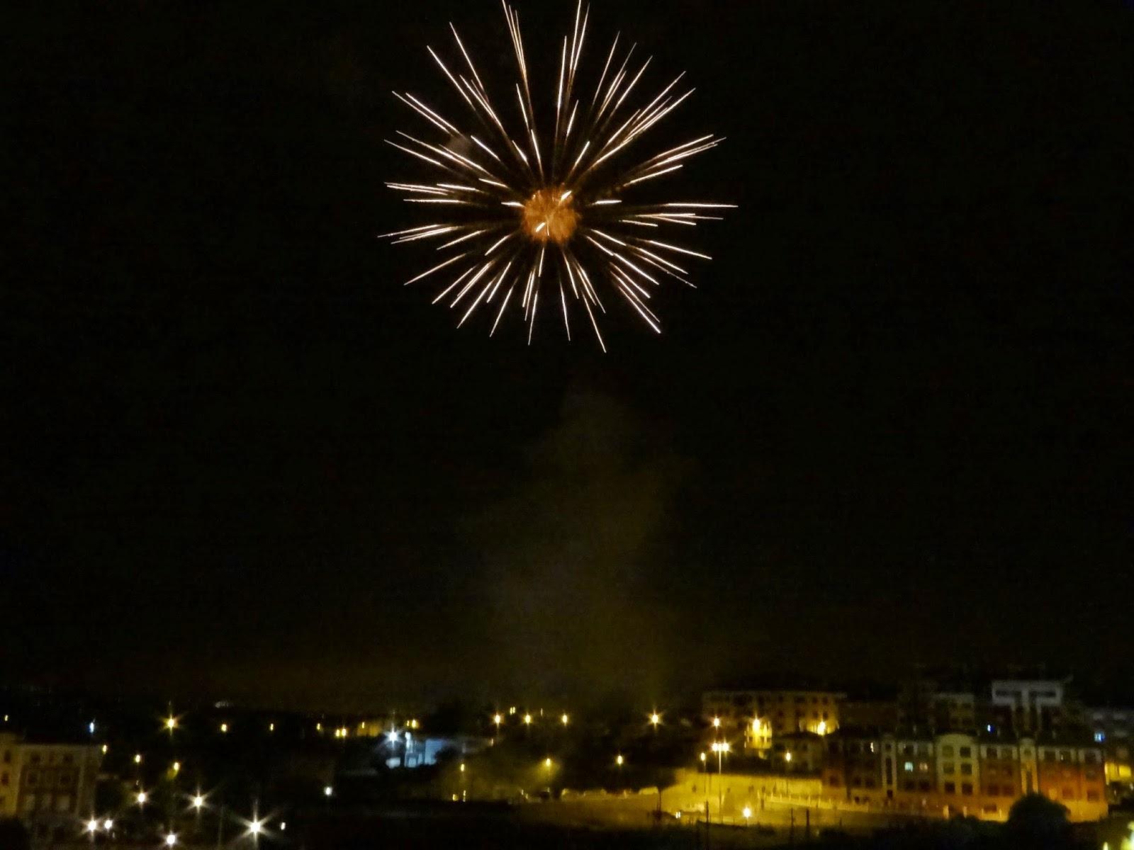 asturias fiesta de prao fuegos fireworks