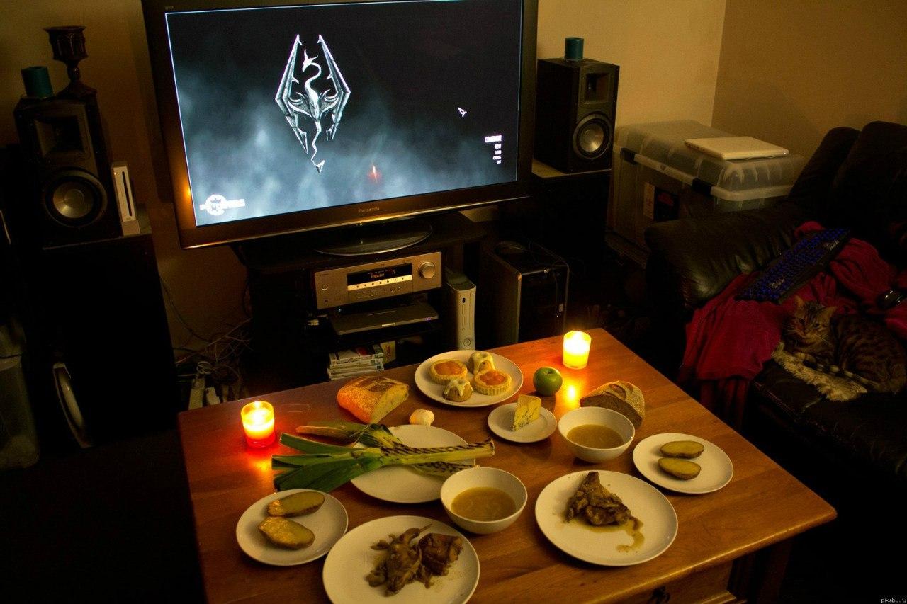 Фото домашнего ужина
