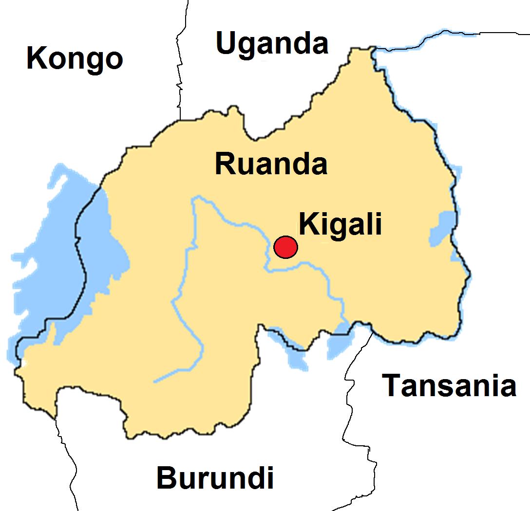 Christina in Ruanda: Erste Informationen