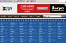FontPark: otra opción para descargar fuentes de letra en forma gratuita
