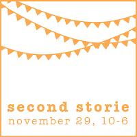 hi. we're second storie.    we love art + craft. we're betting you do, too.