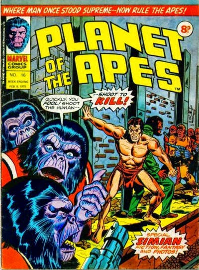 Marvel UK, Planet of the Apes #16