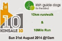 31st Aug...Charity 10k & 10m nr Kinsale