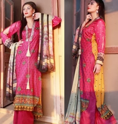 Shariq Libas Collection 2014