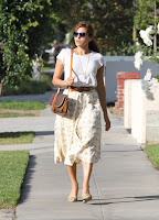 Eva Mendes in a stylish outfit