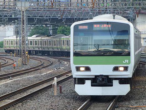 山手線 東京・上野方面行き
