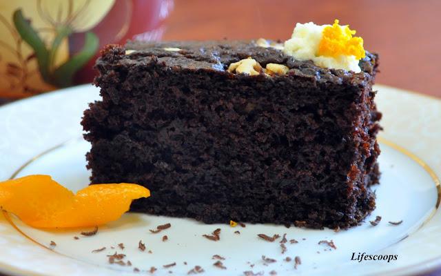 Chocolate Orange Soda Cake