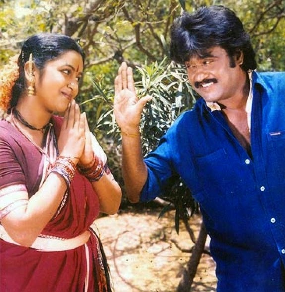 RAJINIKANTH & RADHIKA IN 'OOR KAVALAN' MOVIE