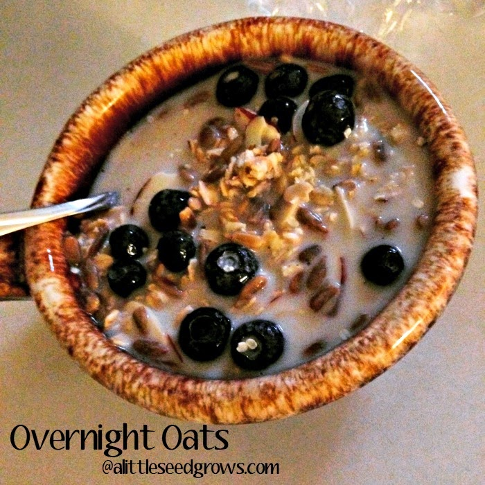 Overnight Oats [Recipe Post] @ A Little Seed Grows Blog