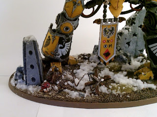 40k Imperial Knight Errant - Base 1