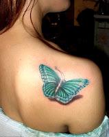 3d Butterfly Tattoos4
